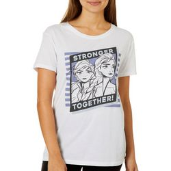 Frozen Juniors Stronger Together T-Shirt By Hybrid