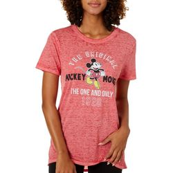 Disney Juniors Mickey Mouse Graphic T-Shirt By Modern Lux