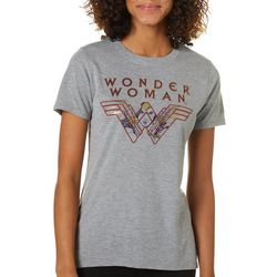 Wonder Woman Juniors Logo Graphic T-Shirt By Modern Lux