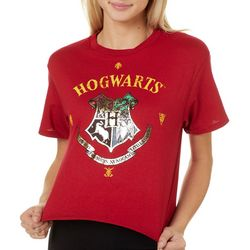 Harry Potter Juniors Hogwarts Graphic T-Shirt By Modern Lux