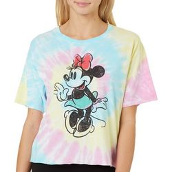 Disney Juniors Tie Dye Minnie Mouse T-Shirt By Modern Lux