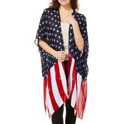 Say What? Juniors Americana Kimono