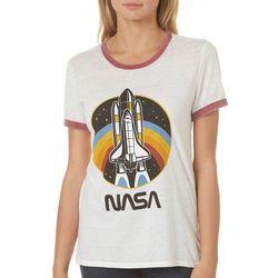 NASA Juniors Space Shuttle Galaxy T-Shirt