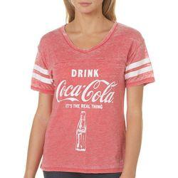 Coca-Cola Juniors Drink Coca-Cola Burnout T-Shirt