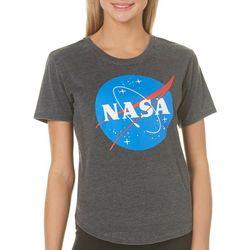 NASA Juniors Galaxy Graphic T-Shirt