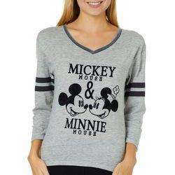 Disney Juniors Mickey & Minnie High-Low Top