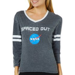 NASA Juniors Spaced Out Athletic Striped High-Low Top