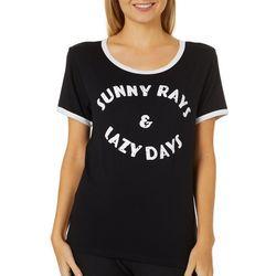 Messy Buns, Lazy Days Juniors Sunny Rays & Lazy Days Top