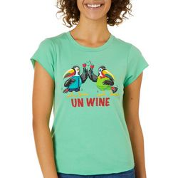 Kisses On Cotton Juniors Unwine Toucans T-Shirt