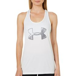 Under Armour Womens Tech Logo Graphic Tank Top