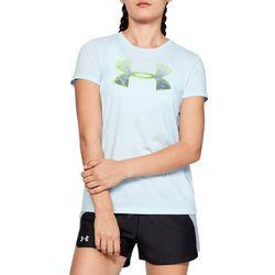 Under Armour Womens Graphic Big Logo Crew Neck T-Shirt