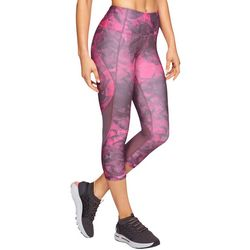 Under Armour Womens HeatGear Marble Capri Leggings