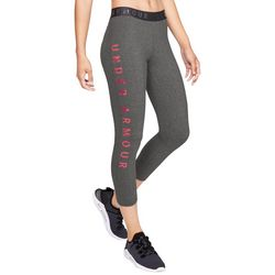 Under Armour Womens Favorite Crop Floral Graphic Leggings