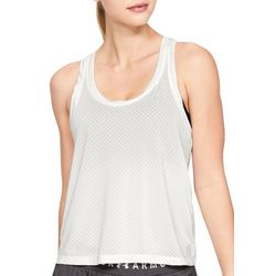 Under Armour Womens UA Armour Sport Eyelet Flowy Tank Top