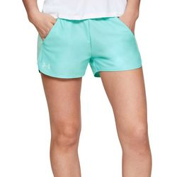 Under Armour Womens UA Play Up Jacquard Solid Shorts