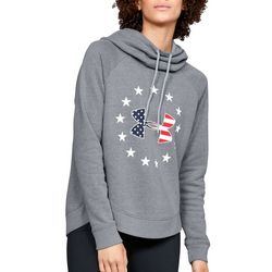 Under Armour Womens UA Freedom Fleece Logo Hoodie
