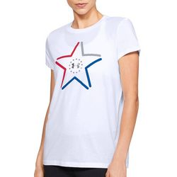 Under Armour Womens Freedom America Crew Neck T-Shirt