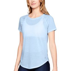 Under Armour Womens Whisperlight Strappy Back T-Shirt