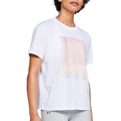 Under Armour Womens Graphic Girlfriend Crew T-Shirt