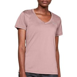 Under Armour Womens Solid V-Neck Top