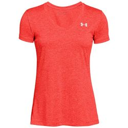 Under Armour Womens Tech Twist Space Dyed V-Neck T-Shirt