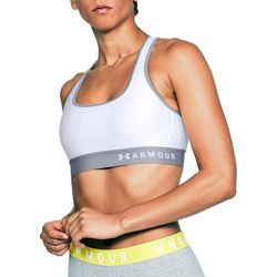 Under Armour Womens Mid Impact Crossback Sports Bra