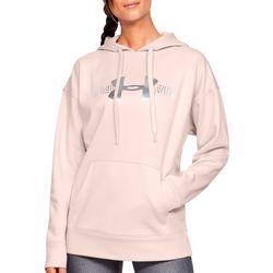 Under Armour Womens Fleece Logo Long Sleeve Hoodie