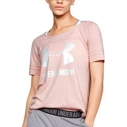 Under Armour Womens Big Graphic Baseball T-Shirt