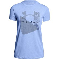 Under Armour Womens Sport Style Crew Neck T-Shirt