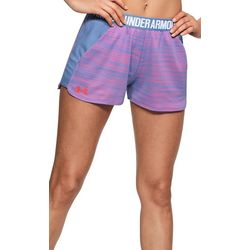 Under Armour Womens Play Up Mesh Logo Shorts