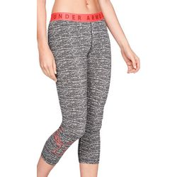 Under Armour Womens UA Favorite Graphic Crop Leggings