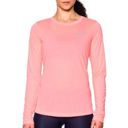 Under Armour Womens Threadborne Twist Solid Long Sleeve Top