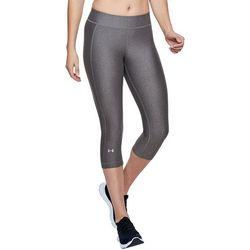 Under Armour Womens HeatGear Compression Capri Leggings