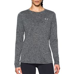 Under Armour Womens Marled Tech Twist Long Sleeve Top