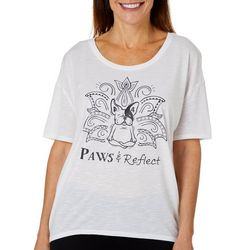 Brisas Womens Paws and Reflect Top