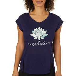 Brisas Womens Lotus Exhale Top