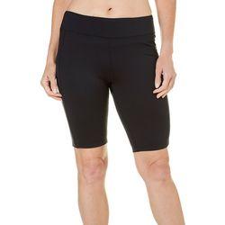 Brisas Womens Bermuda Active Stretch Shorts