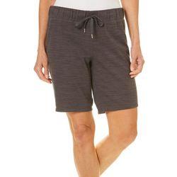 Brisas Womens Heathered Bermuda Shorts