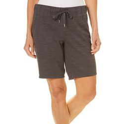 Brisas Womens Heathered Bermuda Shorts
