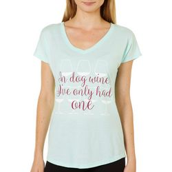 Brisas Womens Dog Wines T-Shirt