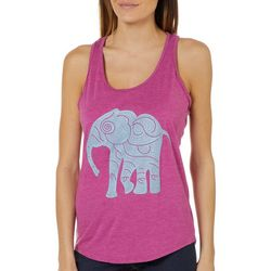 Brisas Womens Elephant Racerback Tank