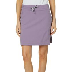 Brisas Womens Side Split Hem Skorts