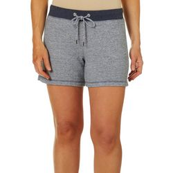 Brisas Womens French Terry Pull On Shorts