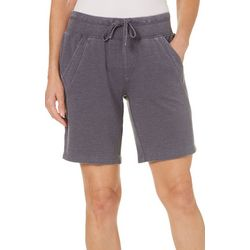 Brisas Womens French Terry Bermuda Shorts