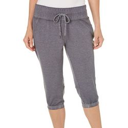 Brisas Womens Banded Cuff Capris