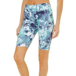 Brisas Womens Blossom Print Bike Shorts