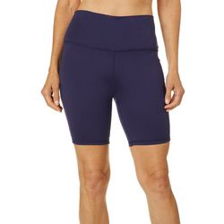 Brisas Womens Solid Bermuda Shorts