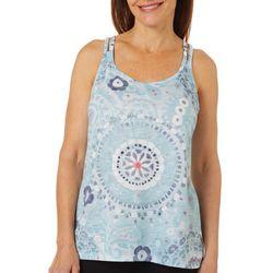 Brisas Womens Vital Mandala Print Tank Top