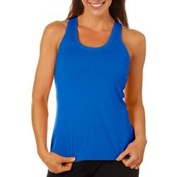 Brisas Womens Solid Elite Racerback Tank Top