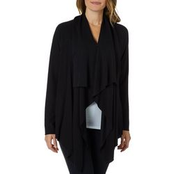 Cupio Womens Cozy Draped Cardigan